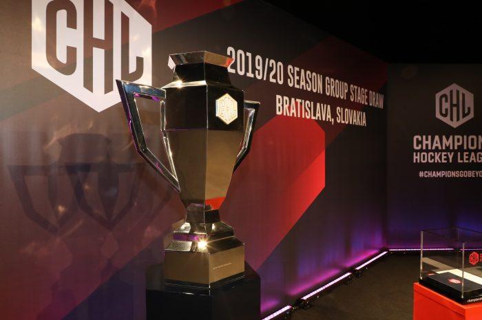 Auslosung zur einzigartigen CHL 2020/21: EHC trifft auf 16-maligen finnischen Meister