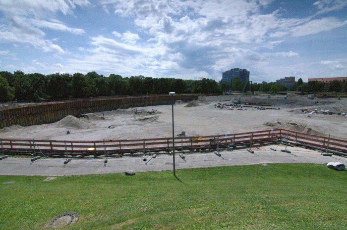Rundgang am künftigen SAP Garden: So sieht die Baustelle der neuen EHC-Heimat derzeit aus